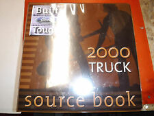 2000 FORD FACTORY TRUCK SOURCE BOOK MANUAL ALL MODELS F B C CL L DIESEL