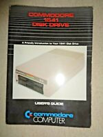 Vintage 1982 Commodore Computer 1541 Disk Drive User's Guide Manual Instructions