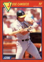 1989 Score Hottest 100 Stars Baseball Cards - You Pick - Buy 10+ cards FREE SHIP