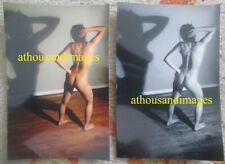Lot of 2 Photos Sexy Women Back Shot Butt Back Barefoot Model Amatuer AA24