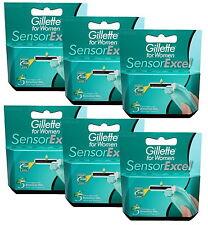 30 Gillette Sensor Excel for Women Rasierklingen 30x razor blades Gillete 30er
