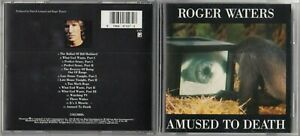 Roger Waters - Amused to Death  CD 1992 COLUMBIA CK 47127