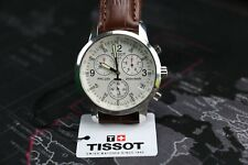 TISSOT T-Sport PRC 200 T17.1.516.32 Leather Wristwatch T461 Chronograph Men's