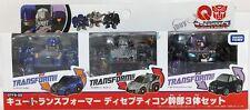 TAKARA TOMY Transformers QT QTFS 02 Decepticon 3pcs Set *FREE SHIPPING
