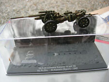 IXO 1/72 CANON sur roues SCHWERE  KANONE 18 10,5 cm sK 18 15.Pz.Div. EGYPTE 1942