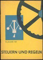 Eva Heldt, Steuern und Regeln -Anlagentechnik 1963, Volk und Wissen/Berlin