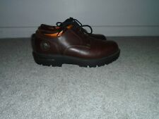 Timberland Brown Leather Lace Up Shoes Size 10