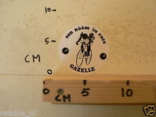 STICKER,DECAL GAZELLE EEN NAAM IN RACE RACEFIETS,CYCLING
