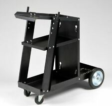 MIG TIG ARC Welder Welding Cart Universal Storage for Tanks & Accessories Wh