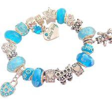 Markenlose Modeschmuck-Bettelarmbänder & -Anhänger aus Kristall für Damen