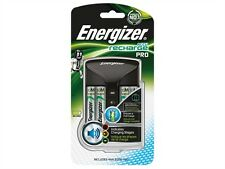 Energizer Pro Charge AA/AAA Battery Charger + 4 2000 mAh AA Rechargeable Battery