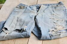 Fashion and Vintage LEVI´S 501 old Jeans. Size 31 34, Very willfully Wore!