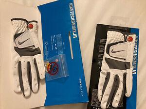 Nike Golf Tech Remix JR Golf Glove Qty:2 Junior Left Hand Medium GG0404-101