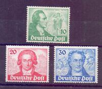 Berlin 1949 - Goethe - MiNr. 61/63 postfrisch** - Michel 320,00 € (172)