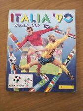 PANINI ITALIA 90 STICKER ALBUM WORLD CUP 1990