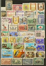 Liberia Lot of over 240 Stamps Cancelled #6961