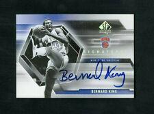 2005 Bernard King Upper Deck SP Authentic Signatures On-Card Auto #SP-BK