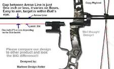 New Sarion Red Laser Aiming Guide for Barnett Vortex Compound Bows