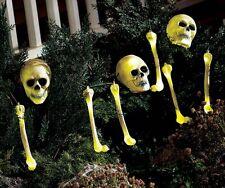 6 Feet Lighted Moving Skeleton Shaking skull & Bones STring Lights Motion