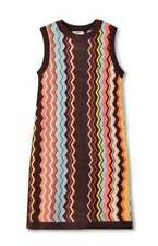 MISSONI for Target S Womens Colore Zig Zag Sleeveless Sweater Dress ON HAND NWT