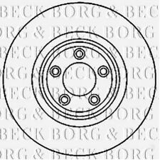 BBD5821S BORG & BECK BRAKE DISC SINGLE fits Jaguar S Type, XF 06- NEW O.E SPEC!