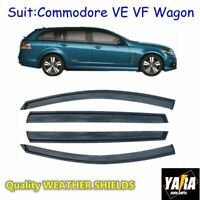Weather shields  Window visors for HOLDEN Commodore VE VF Wagon Tinted