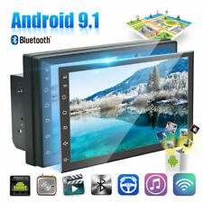 Android9.1 Auto 7'' Mp5 Autoradio Navigatore Gps Bluetooth Wifi Retrocamera 2DIN