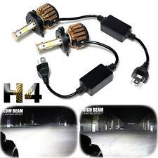 H4 9003 HB2 Philips COB 6000K 4-Sided LED Headlight Kit Hi/Lo Beam 240W 24000LM