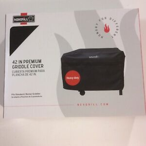 "Nexgrill 42"" Premium Griddle Cover for 2 burner griddles ~ Heavy Duty ~ Black"