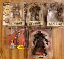 LOT OF 5 SPAWN FIGURES