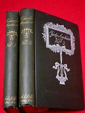 1891 1ST. ~ CHARLES AUCHESTER / ELIZABETH SHEPPARD / IN TWO VOLUMES