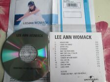 Lee Ann Womack I Hope You Dance MCA Nashville ‎UK Promo CD Album+ Press Release