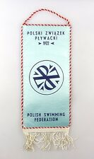 #e6414 Bunting Polish Swimming Federation Polski zwiazek plywacki 1922