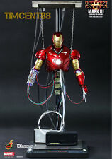 Ready! Hot Toys DS003 Iron Man Mark 3 III Construction Version 1/6