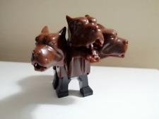 HELL THREE DEADE DOG LEGO MOC FLUFFY - 4706 Animal Minifigure Movie Harry Potter