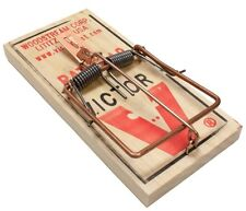 6 Victor M200 Rat Snap Traps Traditional Wooden Rodent Control Tramas Para Ratas