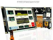 """5"""" inch TFT LCD Module Display 800x480 w/SSD1963,Capacitive,Touch Panel,Tutorial"""