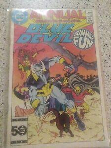 Blue Devil Annual #1. DC comics