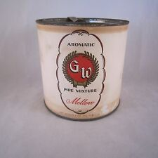 Vintage Greenfield & Winther Pipe Mixture Tobacco Tin Can G&W 8oz, San Francisco