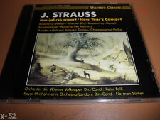 J STRAUSS cd NEW YEAR's CONCERT wiener volksoper peter falk norman sattler