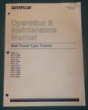 CAT CATERPILLAR D6H TRACTOR DOZER BULLDOZER OPERATION & MAINTENANCE MANUAL