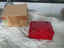 99-03 Harley Davidson FXD Dyna Electrical Panel Cover SCARLET RED