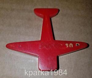 WW2 ARMY AIR CORPS AIRPLANE PENCIL SHARPENER - BAKELITE