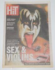KISS Band Symphony GENE SIMMONS Herald Australia Aussie Newspaper Magazine 2003