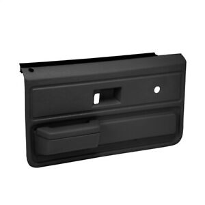 Coverlay Black Pair Replacement Door Panels 18-33-BLK Fits 73-76 Chevy GMC