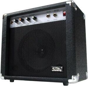 """Amplificatore per Chitarra Elettrica 8"""" Combo 4 Band Equalizzatore 60w 2 Canali"""