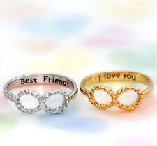 INFINITE/INFINITY RING/love and sympathy of the soul/best friend/ilvu 6.7.8 size