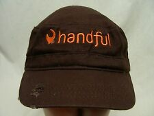 HANDFUL - EMBROIDERED - ADJUSTABLE CADET STYLE BALL CAP HAT!