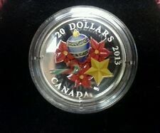 2013 Venetian Glass Candy Cane $20.00 Fine Silver Coin