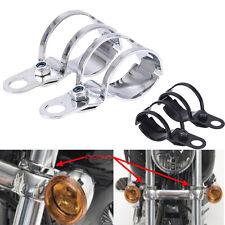 2X Aluminum Fork Mount Turn Signal Light Bracket for Harley Davidson motorcycle